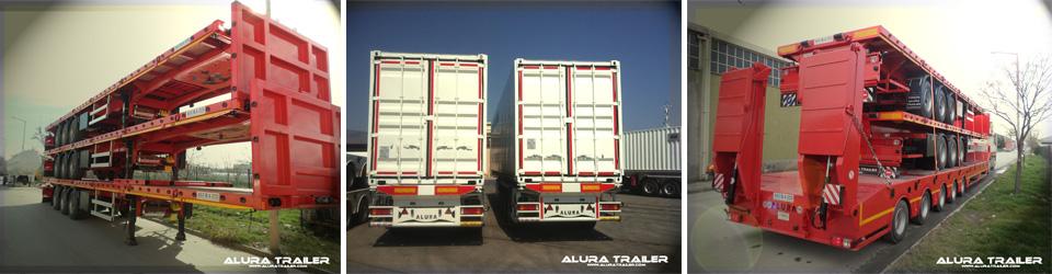 Alura Trailer - Turkey - Low loaders - Flatbed trailers