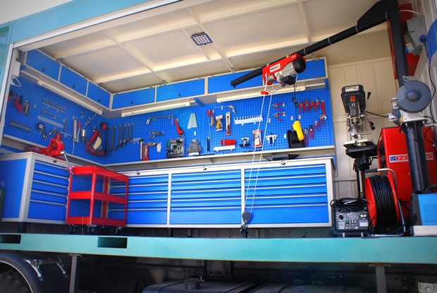 Alura trailer turkey mobile workshop container for Rv workshop