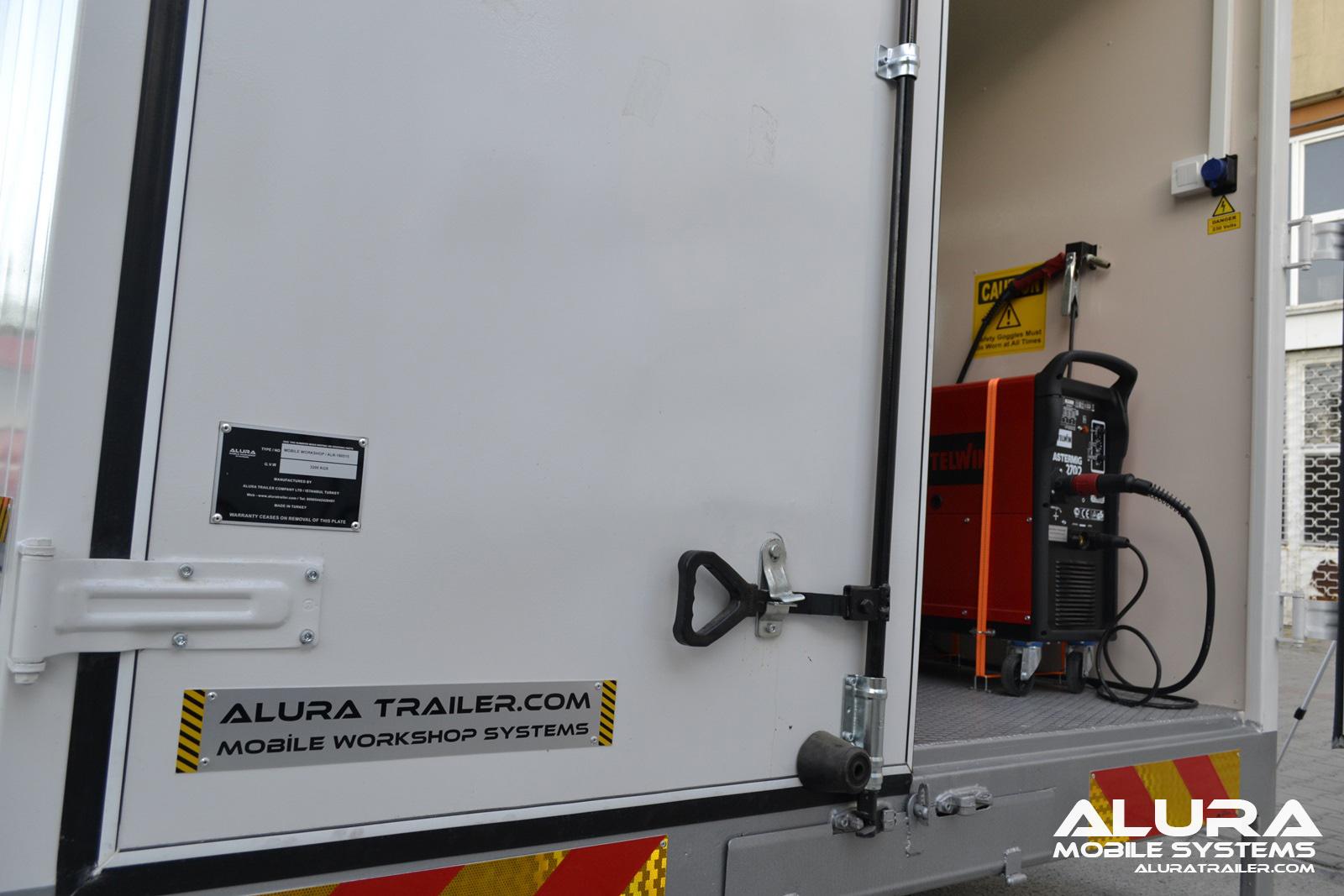 Alura Trailer - Turkey - Truck mounted mobile workshop
